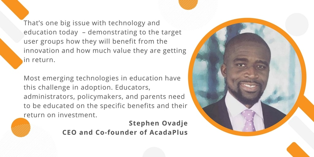 Stephen Ovadje, CEO and Co-founder of AcadaPlus (4)